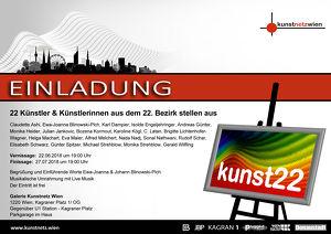 """Ausstellung """"kunst22"""""""