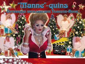 """the """"Manne""""-Quins  -  X-MAS Show"""