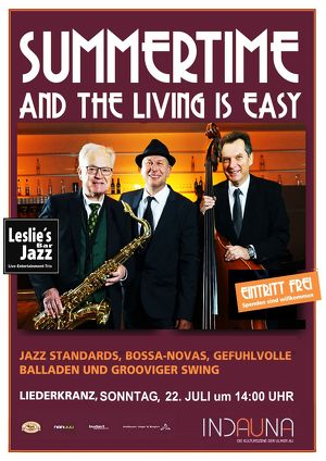 Summertime and the living is easy mit Leslie´s Barjazz