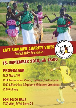 Late Summer Charity Vibes