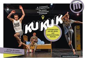 KUKUK - regionales Theaterfestival für junges Publikum in der Steiermark