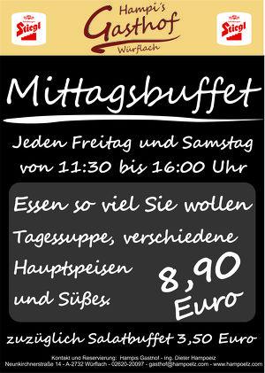 Essen so viel Sie wollen um 8,90 €