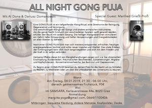 All night Gong Puja für Dich in Graz