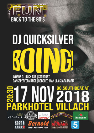 BOING ! - Back to the 90´s mit DJ Quicksilver