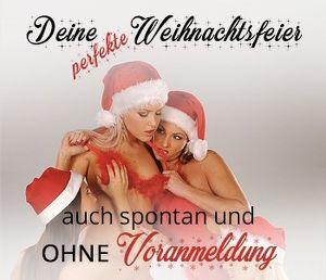 Die perfekte Weihnachtsfeier mit erotischem Rahmen