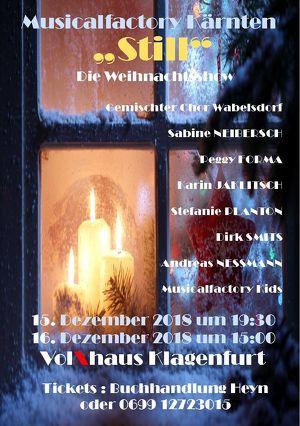 Still - Die Weihnachtsshow Musicalfactory Kärnten
