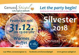 Let the party begin! Silvester 2018 im GenussSpiegel