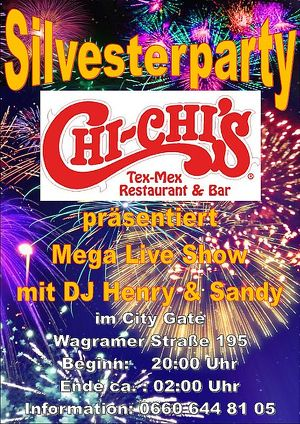 Silvesterparty, Mega Live Show