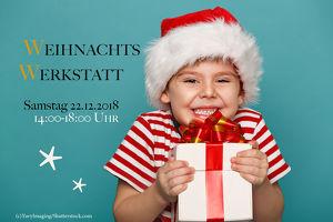 Weihnachtswerkstatt für Kinder ab 5 Jahren