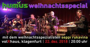 Humus - Weihnachtsspecial im VolXhaus