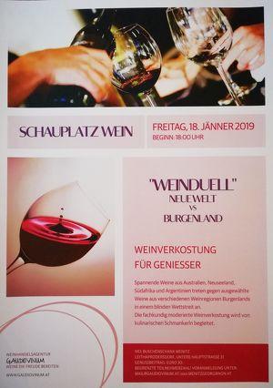 SCHAUPLATZ WEIN - Weinverkostungen für Genießer