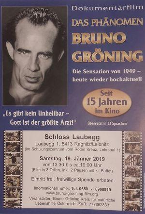 """Dokumentarfilm """"Das Phänomen Bruno Gröning""""  Es gibt kein Unheilbar - Gott ist der größte Arzt!"""