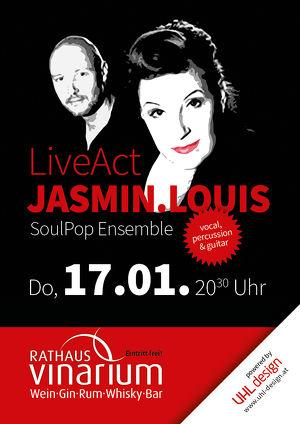 Jasmin.Louis live im Rathaus Vinarium - Leibnitz