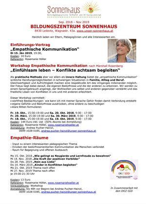 """Vortrag """"Empathische Kommunikation"""""""