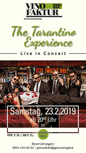 The Tarantino Experience live in Vogau