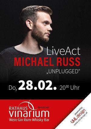"Michael Russ ""unplugged"" im Rathaus Vinarium Leibnitz"