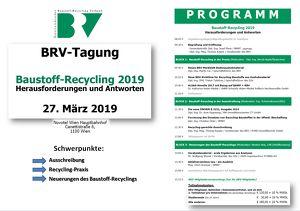 Baustoff-Recycling 2019: Herausforderungen und Antworten