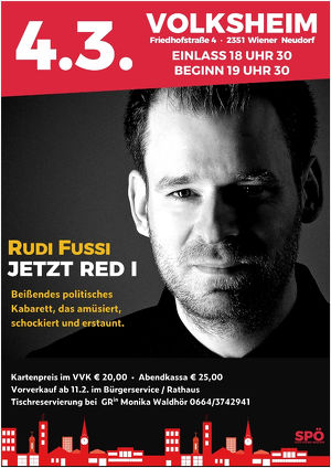 Rudi Fußi - Kabarett am Rosenmontag