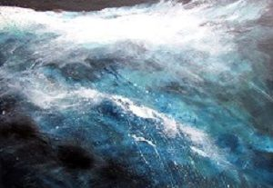 Siebzig Blau auf sieben Meeren