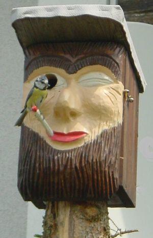 Ausstellung Nistkästen und Insektenhotels