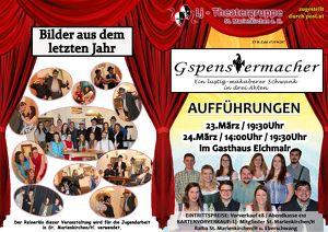 """""""Gspenstermacher"""" Theateraufführung"""