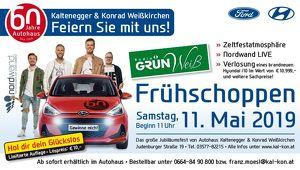 60 Jahre Autohaus Kaltenegger & Konrad mit Radio Grün Weiß Frühschoppen