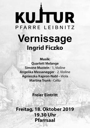 """Kultur Pfarre Leibnitz - Vernissage """"Allerlei und Federvieh"""""""