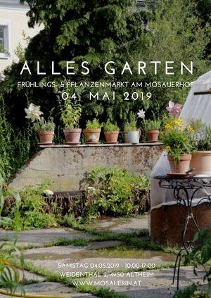 Alles Garten - der Frühlings- & Pflanzenmarkt am Mosauerhof