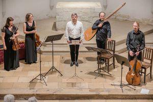 """Konzert """"altus que"""" mit dem Pandolfis Consort und Nicholas Spanos"""