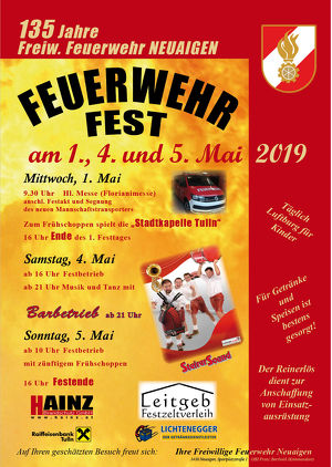 Feuerwehrfest der FF Neuaigen