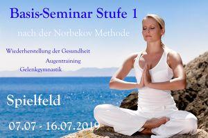 Basis-Seminar Stufe 1 nach der Norbekov Methode in Spielfeld