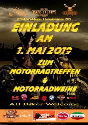 Motorradtreffen mit Weihe