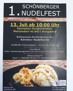 1. Schönberger Nudelfest