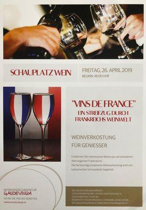 SCHAUPLATZ WEIN - Weinverkostung für Genießer