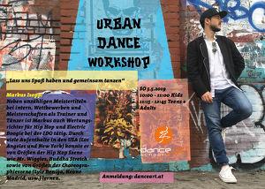 Urban Dance Workshop mit Markus Isopp