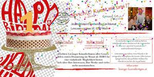 Der GenussSpiegel sagt: Happy Birthday to the Liesinger KunstTreff!
