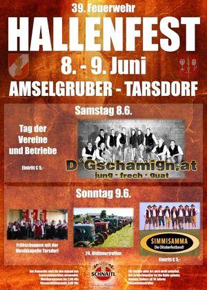 39. Tarsdorfer Hallenfest 2019 Oldtimertreffen mit Frühschoppen
