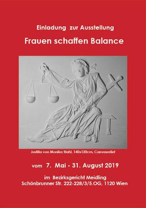 Frauen schaffen Balance - Kunst zu Recht im BG Meidling