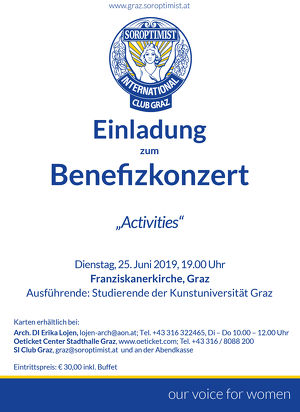 "Benefizkonzert ""Activities"""