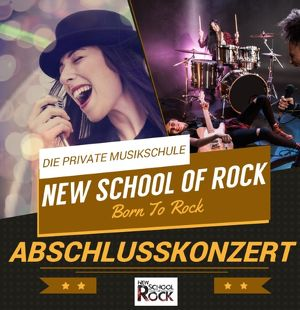 Abschlusskonzert der New School of Rock Klagenfurt