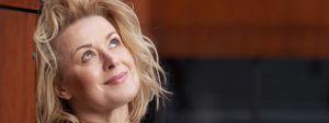 Petra Morzé im Gespräch mit Intendant Florian Krumpöck