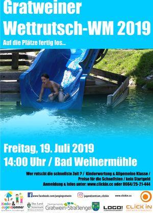 Gratweiner Wettrutsch-WM 2019