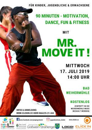 Fun, Dance & Fitness mit Mr. Move it!