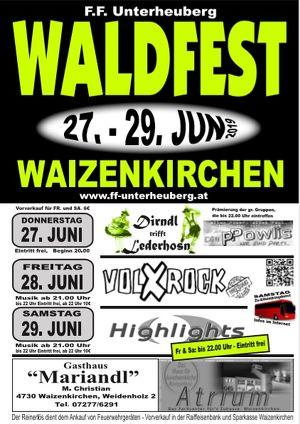 Waldfest Waizenkirchen