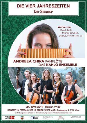 """Der Sommer von A. Vivaldi als Teil von """"4 Jahreszeiten, 4 Konzerte in 4 Bezirken"""""""