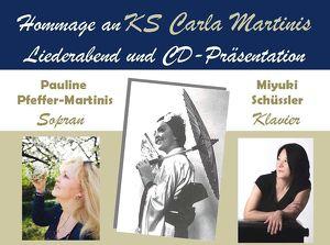 Hommage an Kammersängerin Carla Martinis