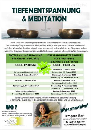 Tiefenentspannung & Meditation