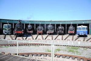 Tag des Denkmals – Ampflwang – OÖ Eisenbahn- und Bergbaumuseum – Lokpark Ampflwang