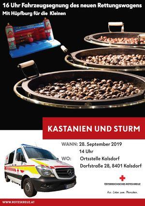 Kastanien und Sturm - Rotes Kreuz Kalsdorf