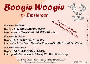 Boogie Woogie für Einsteiger